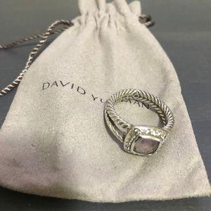 David Yurman Petite Albion Ring - Amethyst